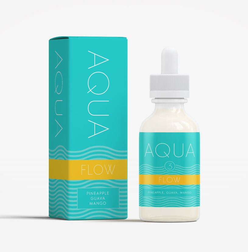 AQUA - Flow (Max VG) 60ml Ejuice 3mg