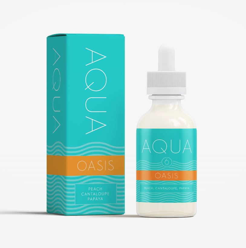 AQUA - Oasis (Max VG) 60ml Ejuice 3mg