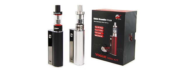 Amigo Vogue 50w Full Kit - Mini Riptide Tank - Black (Pre-Order)
