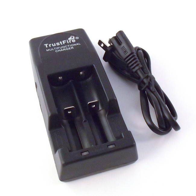 Dual Universal 3.7v Li-Ion Battery Charger - TR-001
