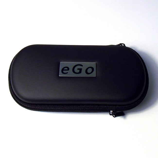Large Black Zippered Case - EGO logo