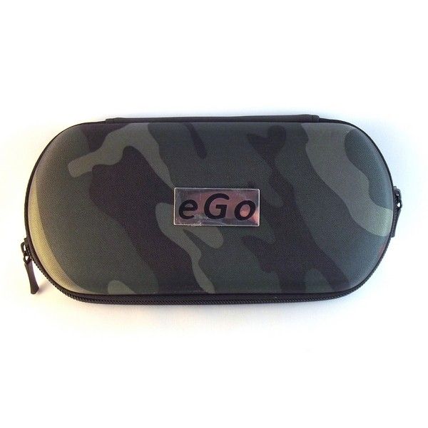 Large Camo Zippered Case - EGO logo