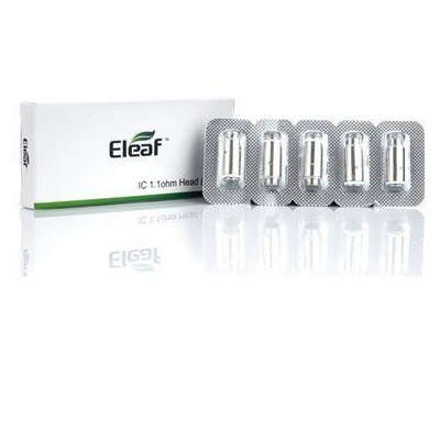 ELEAF IC HEAD FOR ICARE / ICARE MINI 1.1ohm - 5-Pack