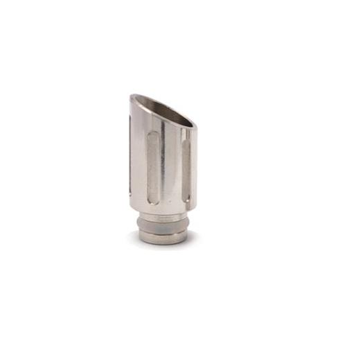 Stainless Steel Wide Bore 510 Drip Tip - Style 59 (Muffler)