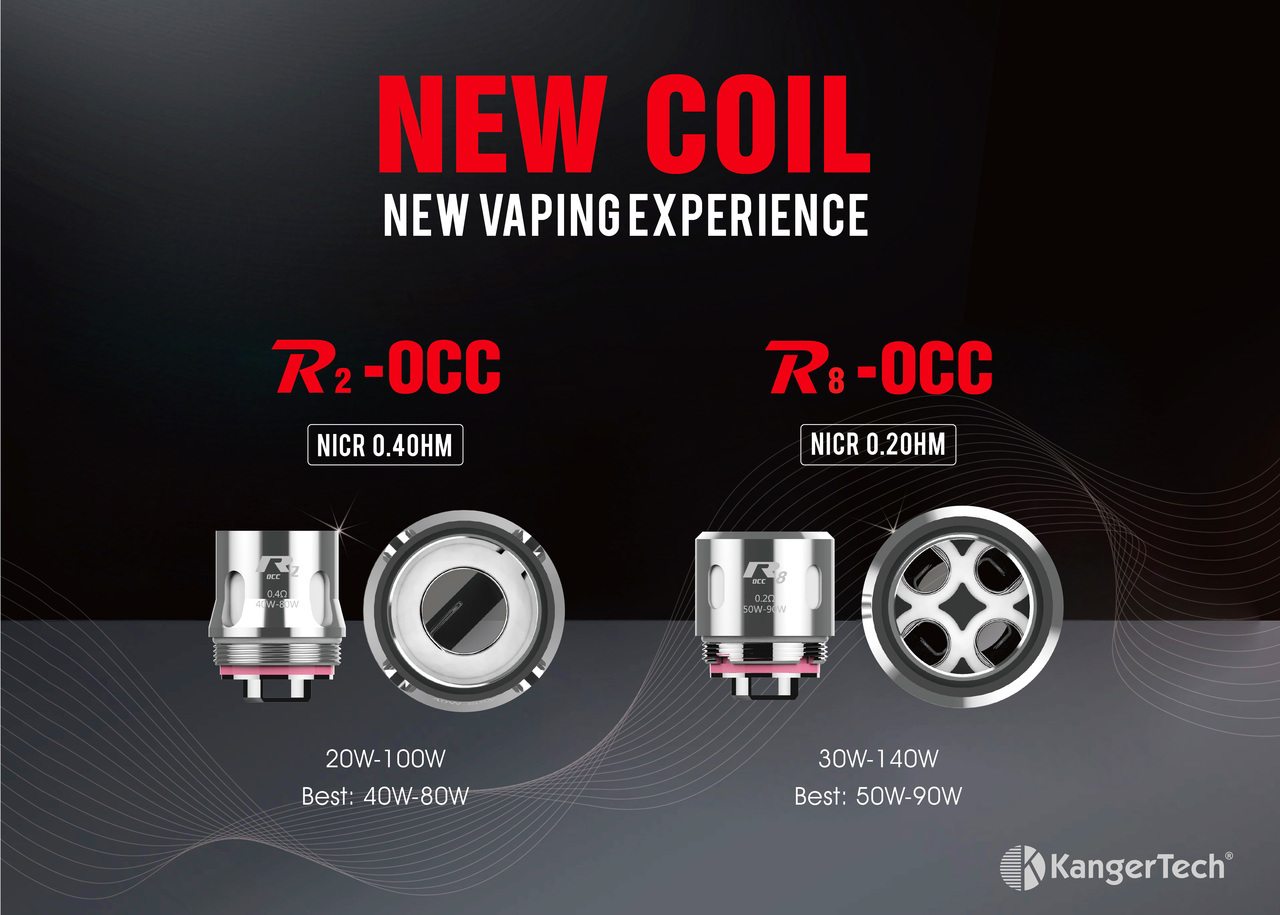 R2-OCC 0.4ohm Coil for Vola - Single