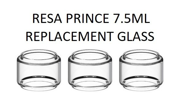 Smok Resa Prince 7.5ml Replacement Glass Tube - Clear