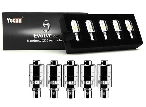 Yocan Evolve Quartz Dual COILS FOR WAX- 5CT/PK
