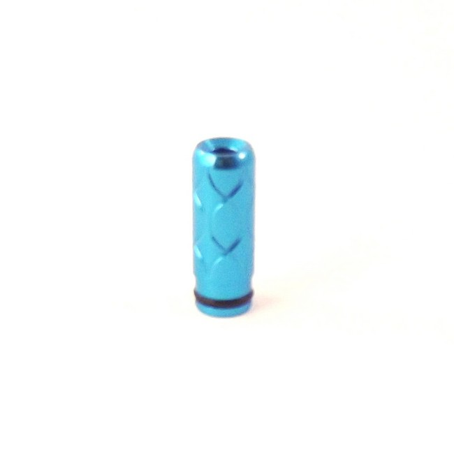 Argyle Etched Aluminum 510 Drip Tip - Teal