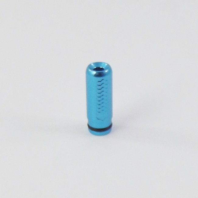 Tread Etched Aluminum 510 Drip Tip - Teal
