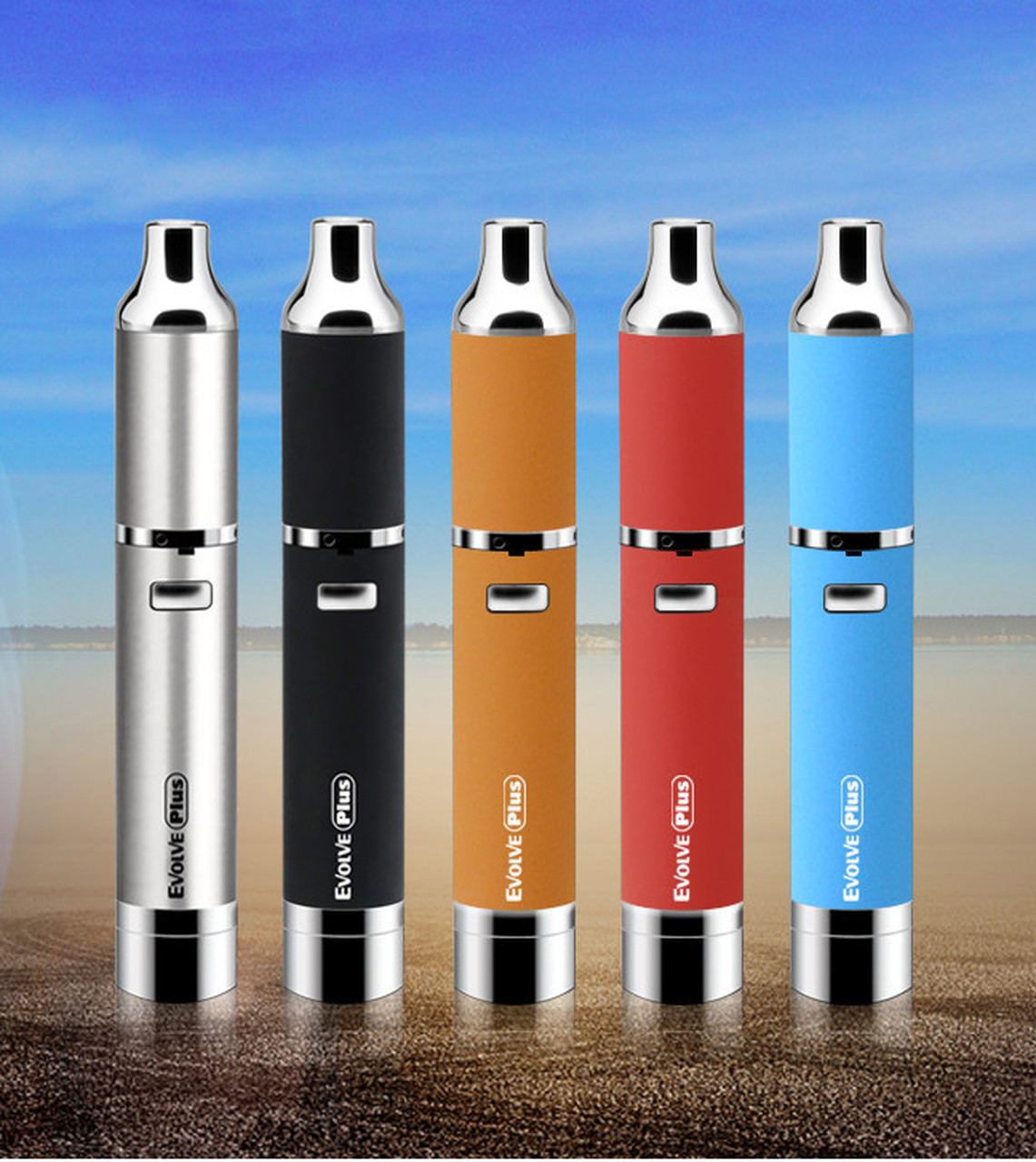 EVOLVE PLUS YOCAN VAPORIZER - Stainless Steel