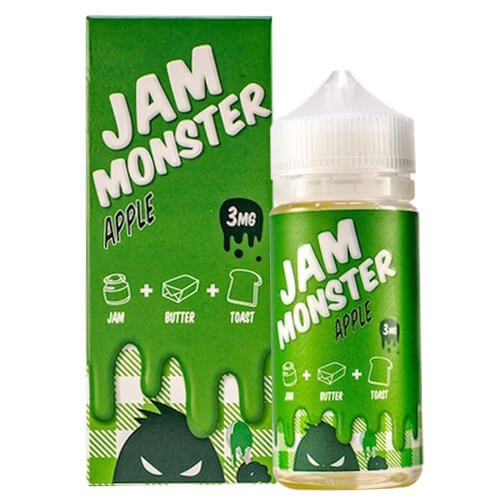 Jam Monster - Apple Jam (Max VG) Ejuice 100ml
