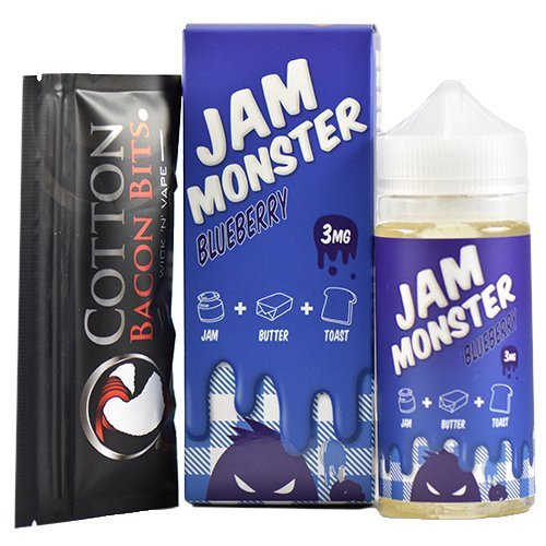 Jam Monster - Blueberry (Max VG) Ejuice 100ml