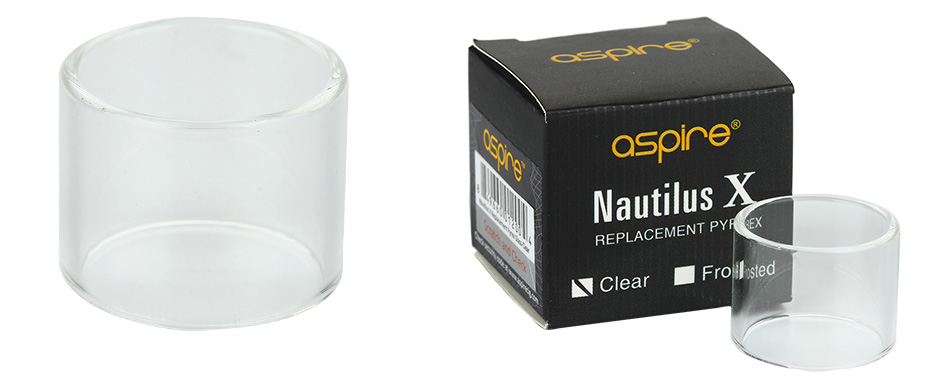 Aspire Nautilus X Replacement Glass Tube - Clear