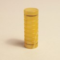 #9 Yellow Swirl Acrylic 901 Drip Shield