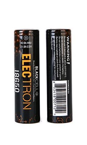 Blackcell 18650 Electron Battery - 2PK