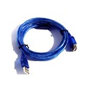 USB Extension Cable - 3 foot - Blue