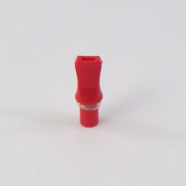 Red Flat Tip Threaded CE4 Style Drip Tip