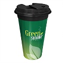 Green Smoke Travel Coffee Mug