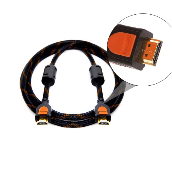 Gold Plated 1080P V1.4 HDMI Male to Male Cable Support 3D, 4K