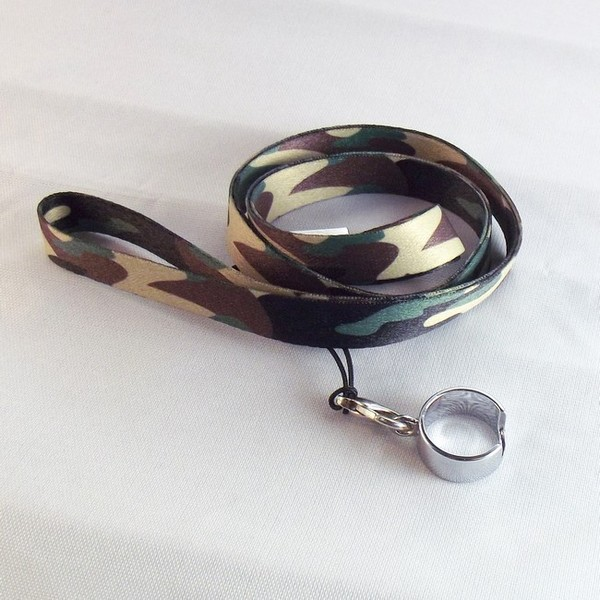 EGO Lanyard with Full Ring Clip for EGO Batteries - Camouflage