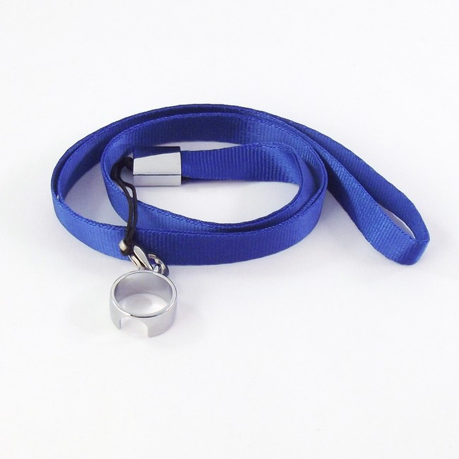 EGO Lanyard with Full Ring Clip for EGO Batteries - Dk Blue