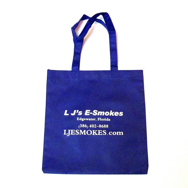 L J's Tote Bag - Blue