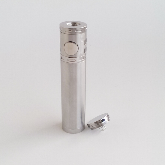 Poldiac Clone 18650 - Brushed Stainless