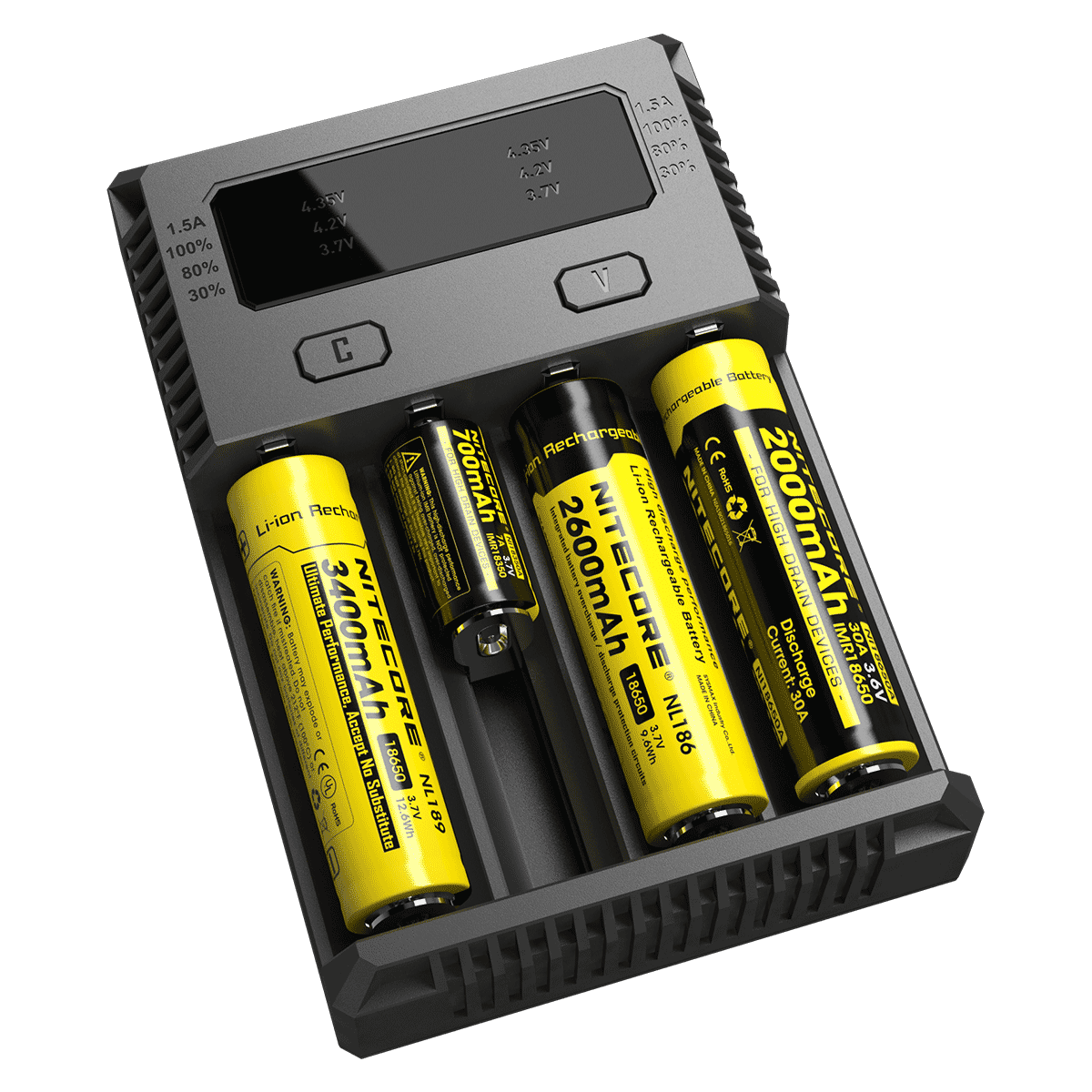 New Nitecore i4 intellicharger Battery Charger