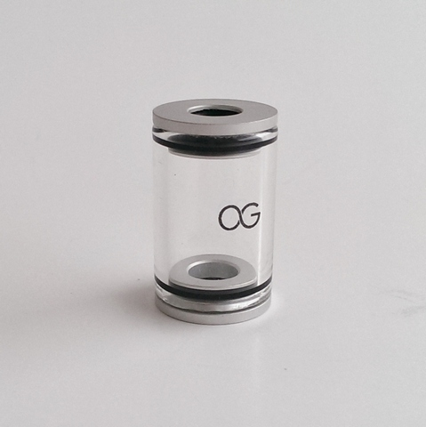 Pyrex OG DCT 4.5ml Tank - Silver End Caps