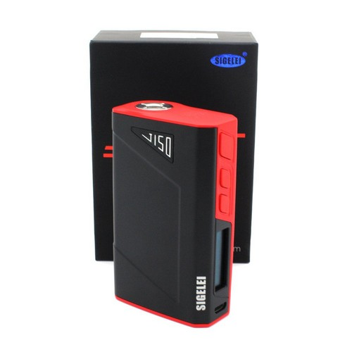 Sigelei J150 Box Mod - Red/Black