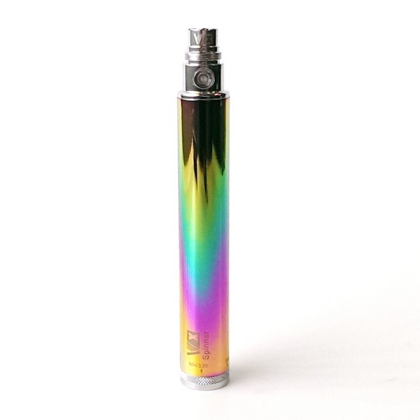 "Vision ""VX"" Spinner Battery 1300mah - Rainbow"