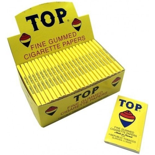 Top Fine Gummed Cigarette Papers - 1pk