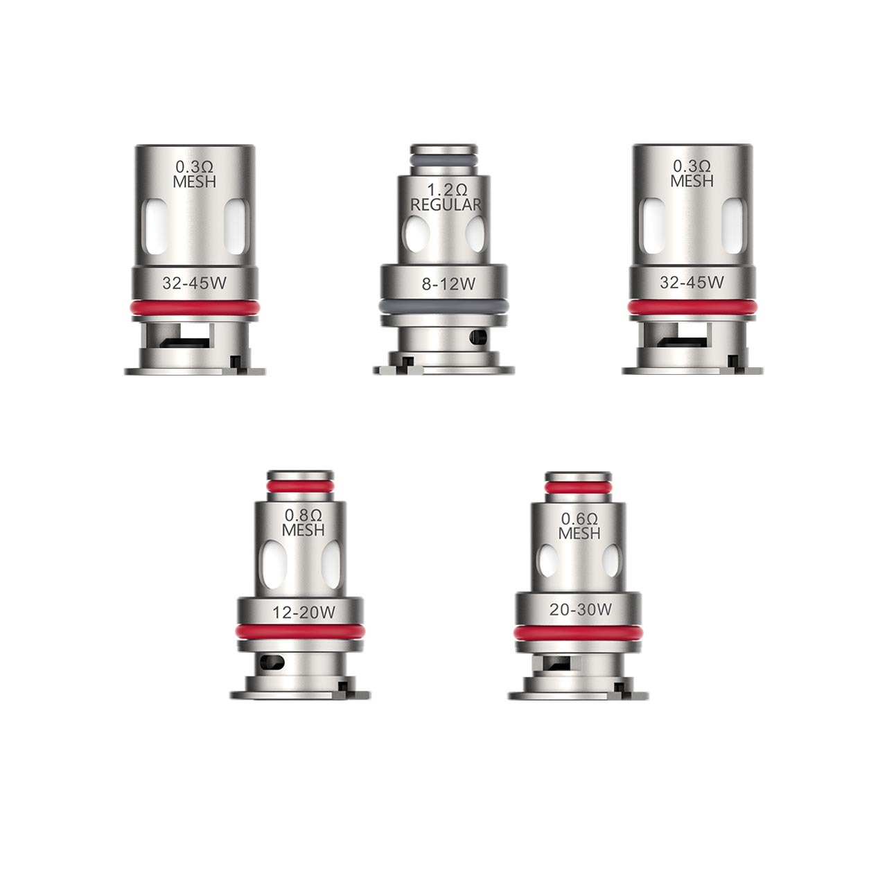 Vaporesso GTX Replacement Coil 0.6ohm - 5-Pack