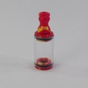 Vash Short Regular Tank with Clear Tube - Red / Yellow