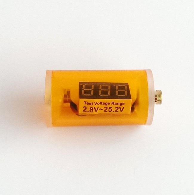 In-Line Voltage Indicator (510 threaded) V2 - Orange