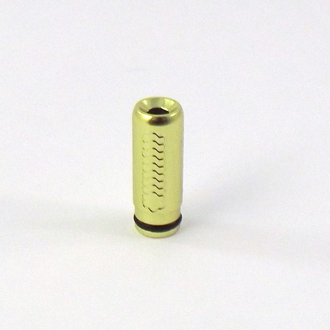 Tread Etched Aluminum 510 Drip Tip - Green