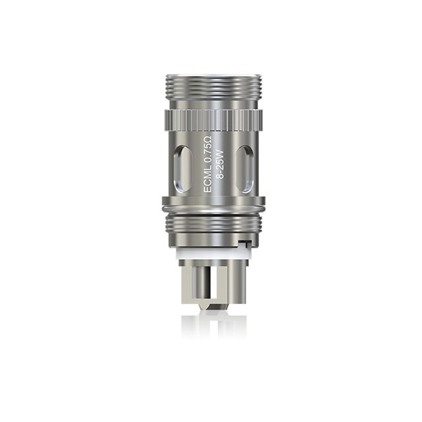 Eleaf iJust S / iJust 2 ECML Coil Heads 0.75ohm - 5-Pack