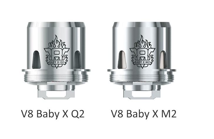 Smok TFV8 X-Baby Coils * 2 Styles -Single